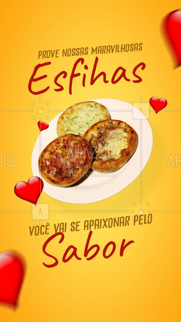 Esfihas saborosas é quentinhas você encontra aqui, aproveite! 🤤 #ahazoutaste #esfiha #esfihadecarne #esfihaaberta #esfihafechada #delivery
