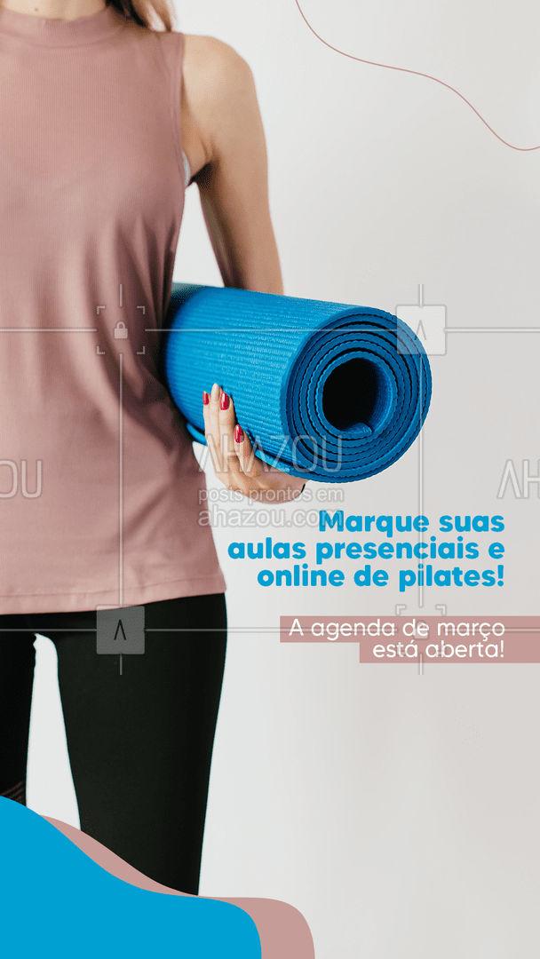 Lembre-se sempre: a saúde e o bem-estar são os maiores investimentos que se pode fazer.  #AhazouSaude  #pilatesbody #pilates #fitness #workout #pilateslovers