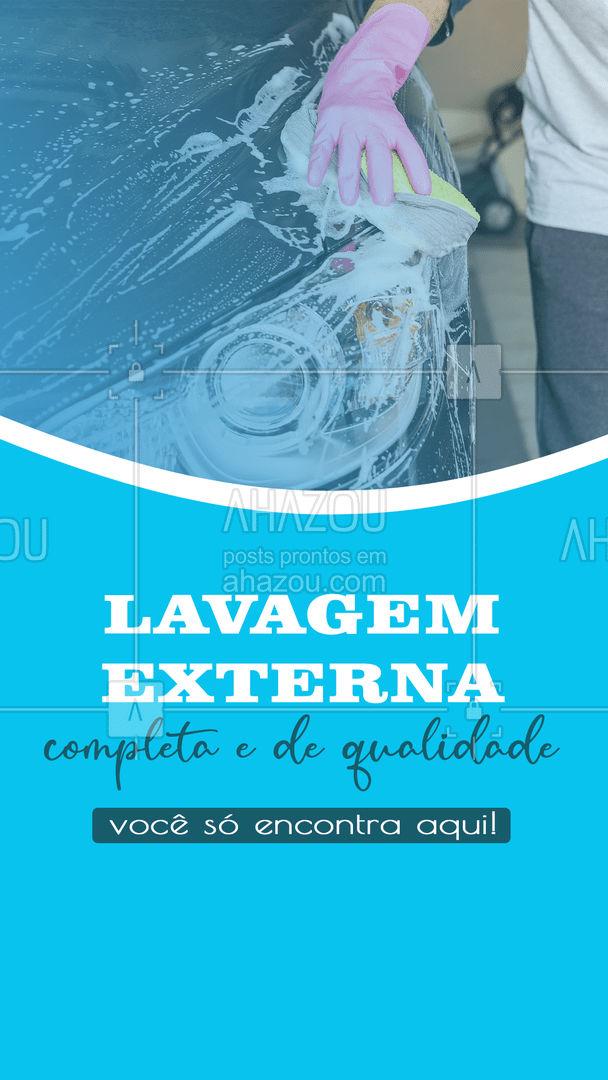 Traga seu veículo e saia com ele daqui limpinho! #AhazouAuto #lavagemcompleta #lavagemexterna  #higienizacaoautomotiva #automotiva #carro #esteticaelavajato #esteticaautomotiva #limpezadecarros #lavajato