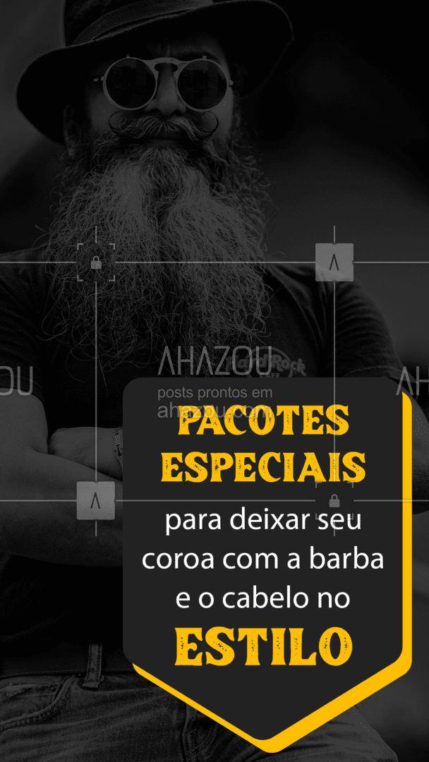 Venha conferir as nossas promoções de Dia dos Pais!  #DiadosPais #BarbaeCabelo #AhazouBeauty #barberLife #barbearia