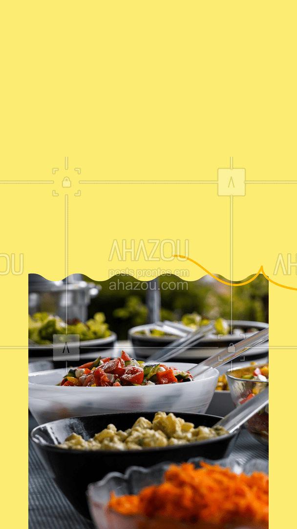 A festa é garantida quando a comida é boa! 🎈 #ahazoutaste  #buffet #foodie #eventos #eventoemcasa #festaemcasa #festa #contato
