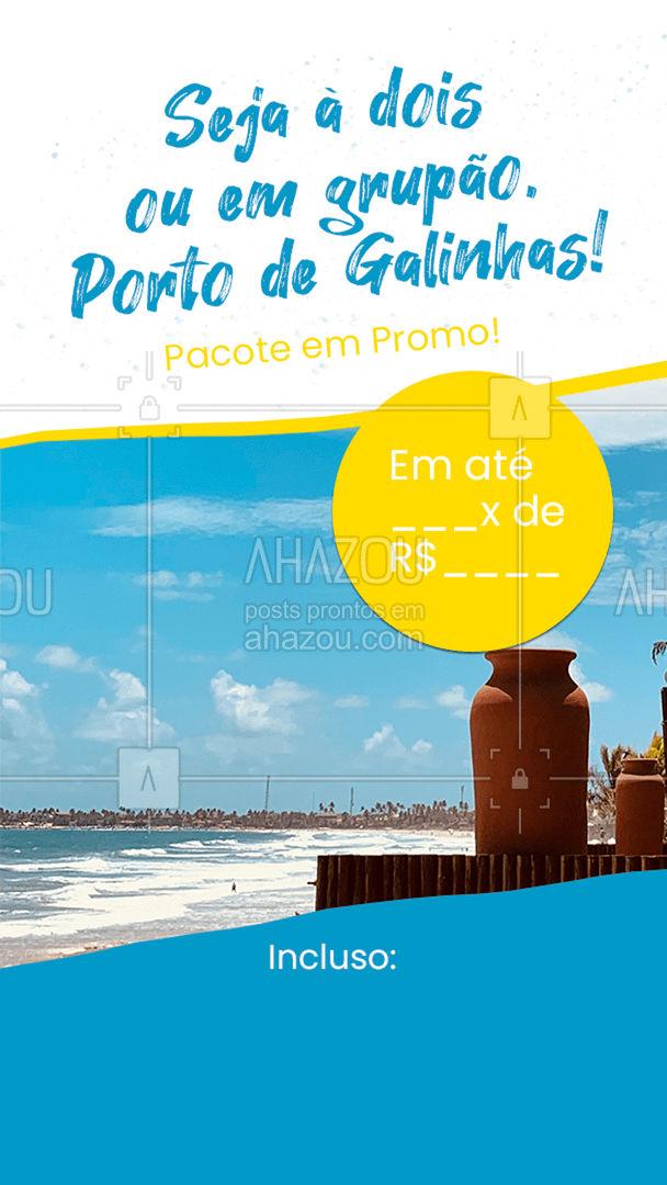 Porto de Galinhas é um paraíso e sempre será! Entre em contato e agende sua viagem para esse lugar maravilhoso: (xx) xxxx-xxxx #AhazouTravel  #agentedeviagens #trip #viagem #viajar #viagens #viagempelobrasil #agenciadeviagens #agentedeviagens