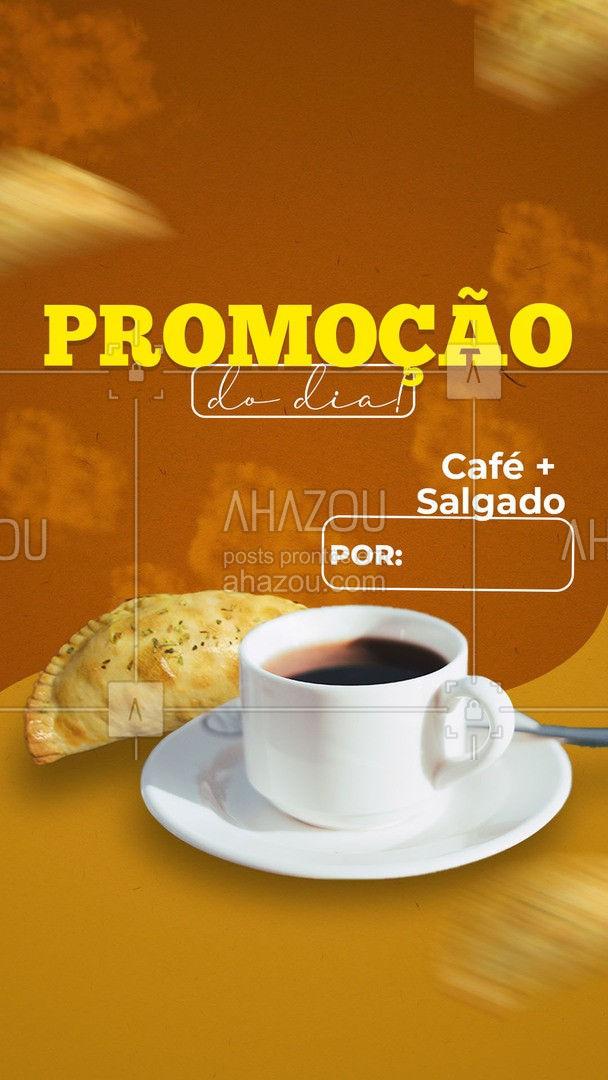 Confira nossos salgados disponíveis e aproveite a promoção!  #ahazoutaste  #cafeteria #café #coffee #barista #coffeelife