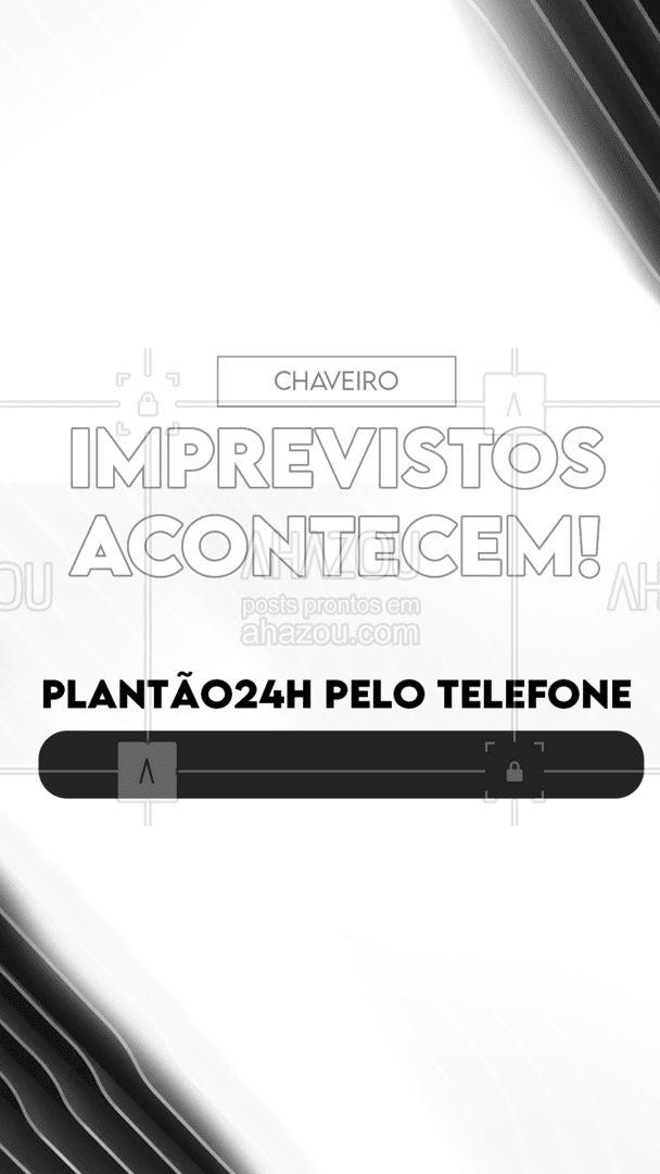 Algum imprevisto por aí? Entre em contato, eu te ajudo!  #AhazouServiços #plantao24h #caveiroo24h  #chaveiro #serviços #chave