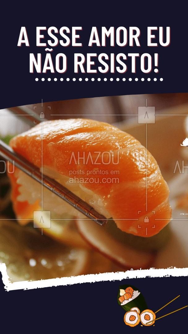 Fala sério, quem é que resiste a um sushi bem gostoso e fresquinho? ?? #ahazoutaste #japa #sushidelivery #sushitime #japanesefood #comidajaponesa #sushilovers