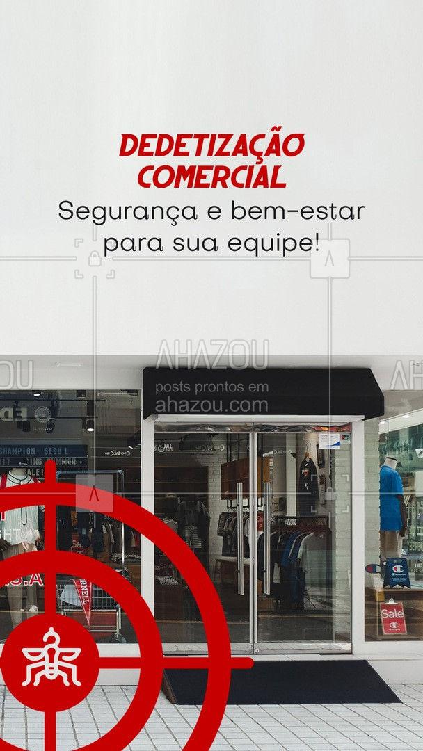 Proteja seus funcionários, agende já uma dedetização! - Entre em contato. #AhazouServiços #empresa #comercial  #dedetizador  #pragas  #dedetizacao