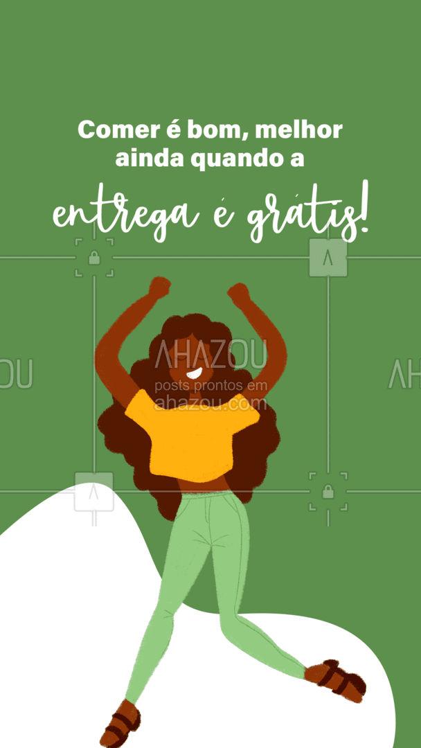 Aproveite que todos os pedidos serão com entrega gratuita! #ahazoutaste #gastronomy #gastronomia #culinaria #entregrátis #deliverygrátis #delivery #entrega