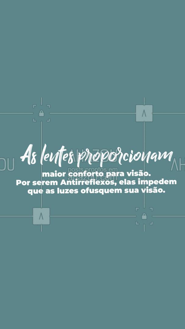 Reunimos 4 motivos para você garantir os seus óculos antirreflexo, confira no post!   #carrosselahz #AhazouÓticas #oculosantirreflexo #óculos #cuidadoscomosóculos