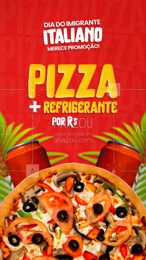 Um dia desses a gente não pode deixar passar em branco... então aproveite essa promoção e faça seu pedido! #ahazoutaste  #pizzaria #pizza #pizzalife