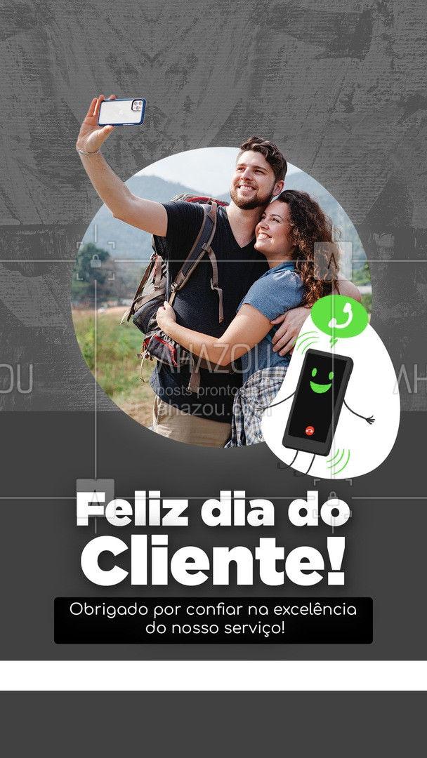 Fazemos o nosso máximo para garantir sua satisfação, curta o seu dia! 🤩 #AhazouTec  #computador  #tecnologia  #eletrônicos  #celular  #assistencia #diadocliente