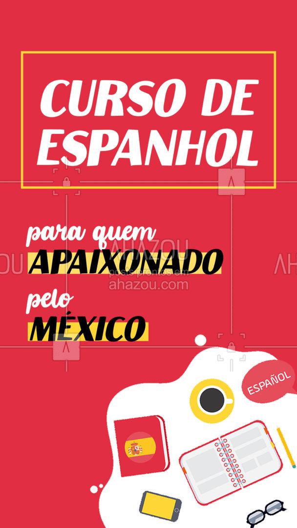 Brasil e México tem muito em comum. ?? ?? Os dois países amam novelas, futebol e festas. ? Sem falar da comida, que é admirada no mundo inteiro. ? Mas uma coisa que todo mundo diz que parece e está errado, é a língua. Ainda que o Português e o espanhol dividam uma origem em comum, com muitas palavras parecidas, as duas línguas são bem diferentes. ? E nesse curso vamos te mostrar essa diferença, te preparando para visitar o México e realmente entender o que estão falando. #AhazouEdu #mexico #espanhol #auladeespanhol #AhazouEdu #AhazouEdu