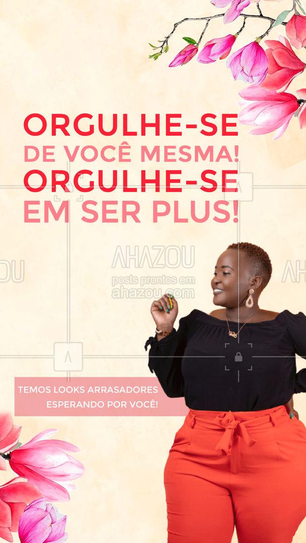 Amar seu corpo, amar sua essência, amar sua vida! Venha conferir nossa coleção especial para você!💖 #AhazouFashion