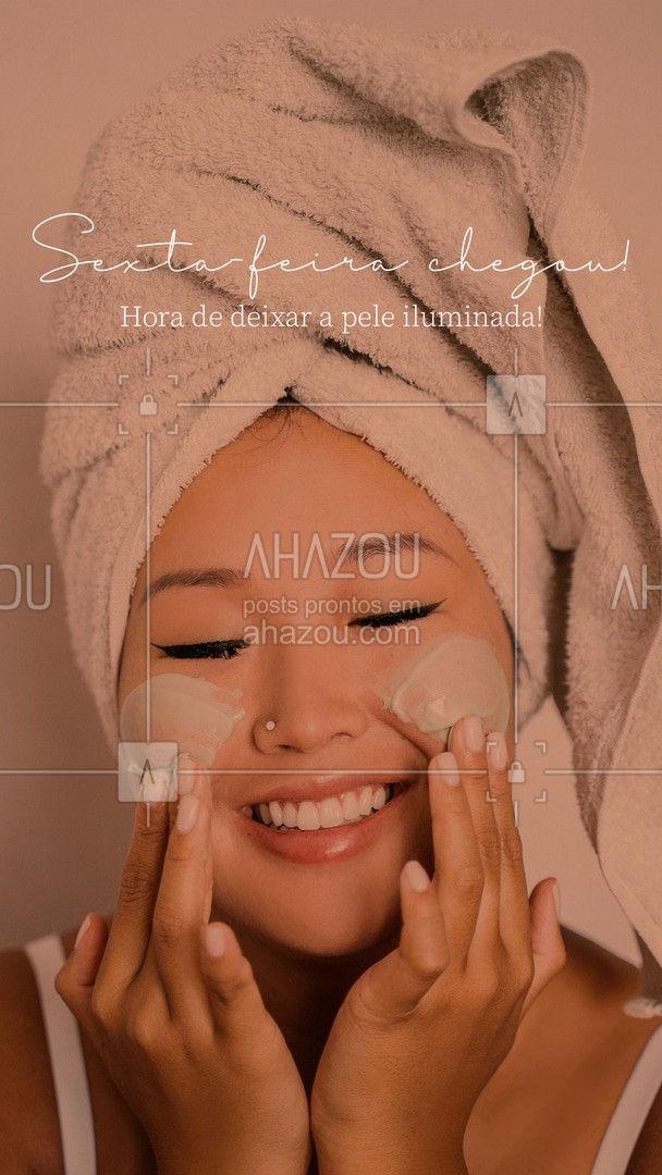 Vem cuidar da sua pele e deixar ela prontíssima para o fim de semana! ? #AhazouBeauty #bemestar #esteticafacial #limpezadepele #saúde #skincare #beleza #peeling #AhazouBeauty