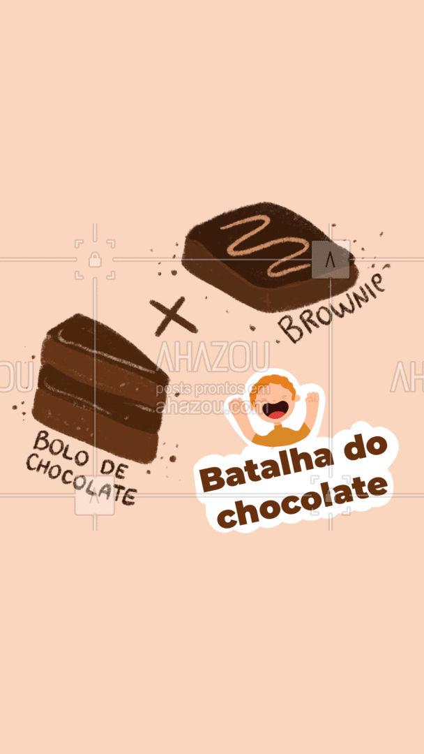 Ambos são irresistíveis, mas tem sempre um que a gente gosta mais. E você qual o seu preferido? Conta lá nos comentários! #bolocaseiro #docinhos #foodlovers #confeitaria #ahazoutaste #kitfesta #salgados #batalha #enquete