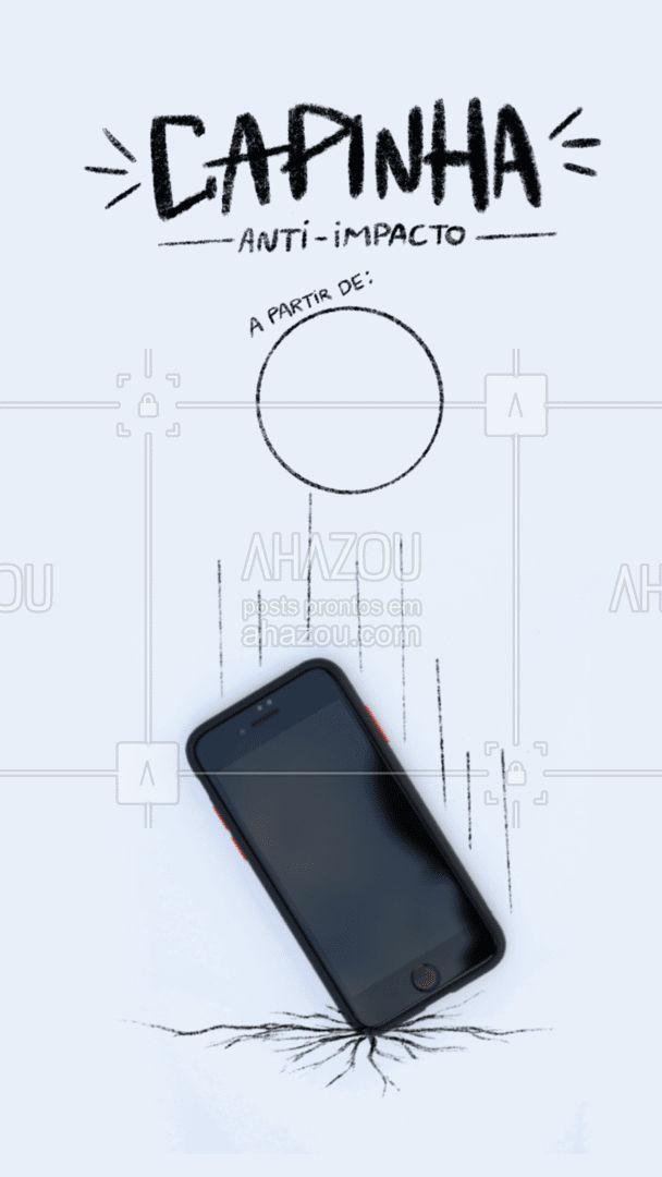 Proteja seu telefone com nossas novas opções de capinhas resistentes. #AhazouTec  #AssistenciaCelular  #celulares  #celular