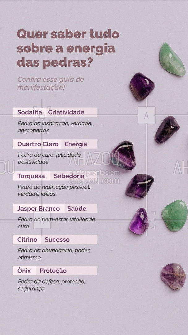 Use a energia das pedras ao seu favor na meditação! #espiritualidade #bemestar #terapiascomplementares #energia #AhazouSaude #AhazouFé #pedras #energetico #autoestima #fe