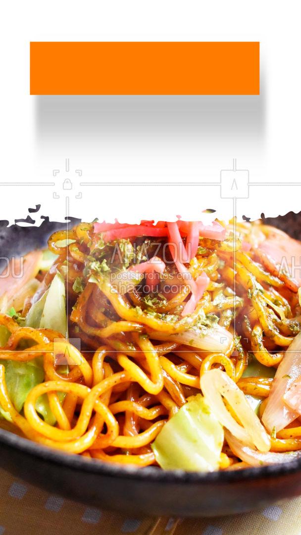 Garanta o seu jantar com essa super promoção! 🤩  #yakisoba #comidajaponesa #ahazoutaste  #japanesefood #sushitime #japa