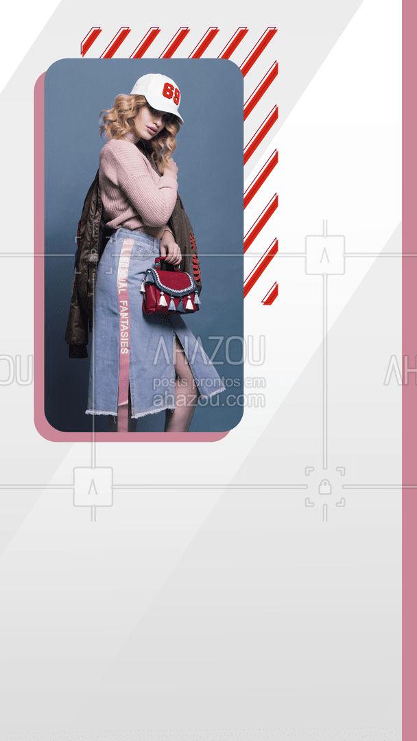 Aqui você encontra estilo e faz sua própria tendência! Confira nossas peças! ? #AhazouFashion  #lookdodia #fashion #OOTD #style #moda #outfit #loja #lookscriativos #estilo #peças #roupas