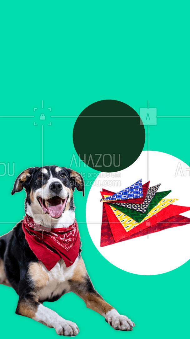 Nossa coleção de bandanas está incrível! Venha conferir e garanta uma para seu pet esbanjar charme e estilo! #instapet #tosahigiênica #petshoponline #AhazouPet #petshop #delivery #roupinhas #acessorios #coleira #peitoral #guia