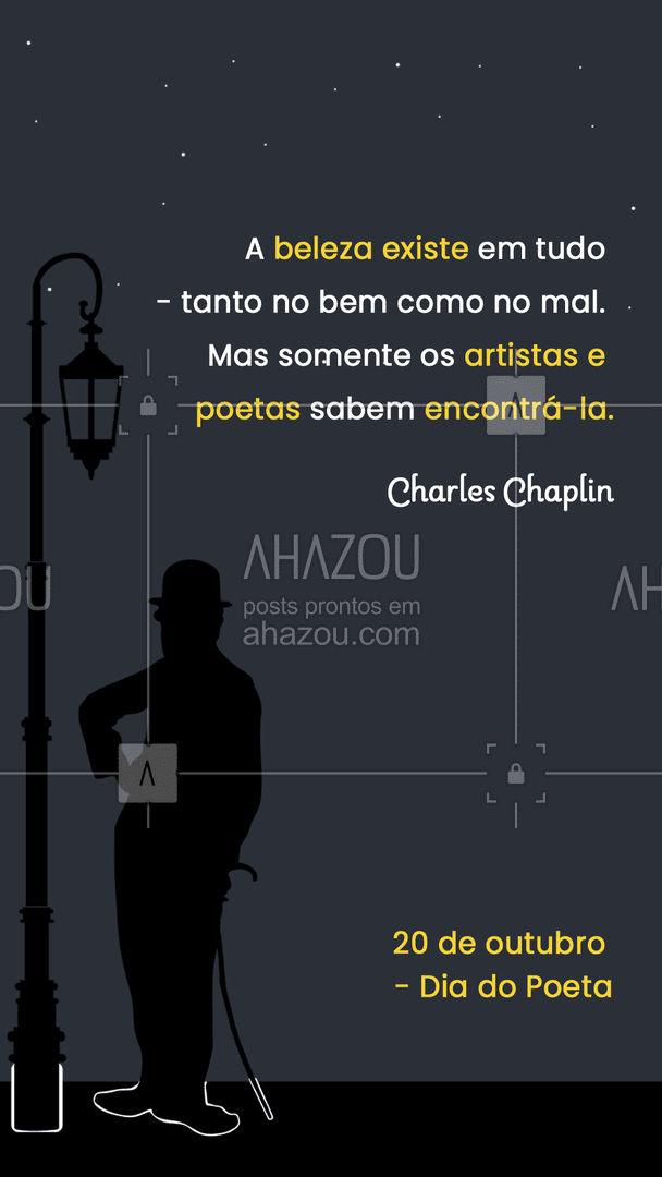 Parabéns para os poetas e poetisas que encontram beleza em todas as adversidades da vida e transformam toda dor e amor em poesia. #diadopoeta #poetisa #ahazou