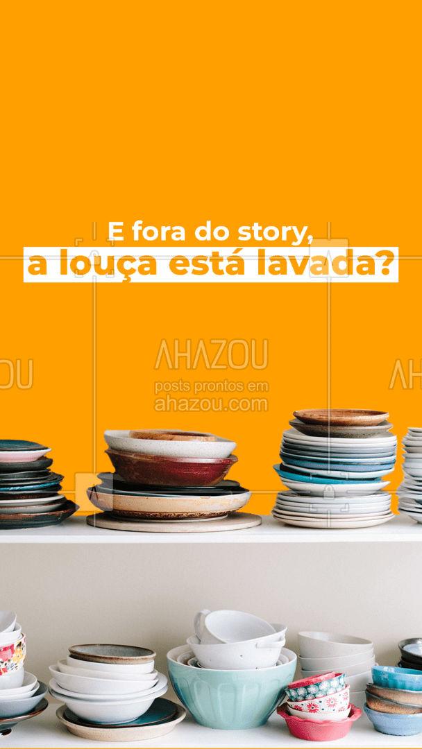 No story aparentemente sim... Mas e fora dele? 😅  #AhazouServiços #residencia  #servico  #atendimento  #servicosparacasa  #servicos  #agendamento