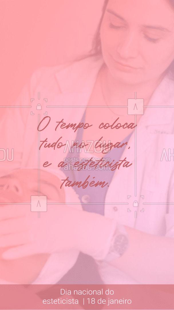 Esteticista nem é gente, é anjo! ??  #AhazouBeauty  #18dejaneiro #diadaesteticista #esteticacorporal #estetica #esteticista #esteticafacial #bemestar #beleza #saúde