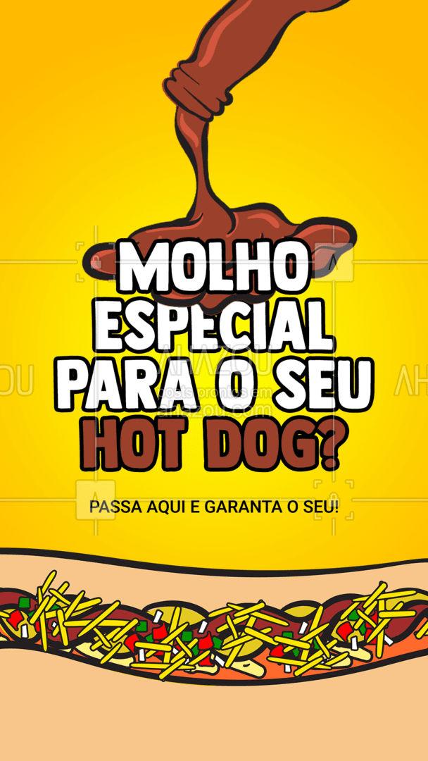 O molho é essencial em um lanche saboroso, por isso, temos o nosso molho especial, feito com carinho e ingredientes selecionados, é realmente uma explosão de sabor ? #ahazoutaste #cachorroquente #molho #molhoespecial #molhos #lanches #lanchonete #hotdog