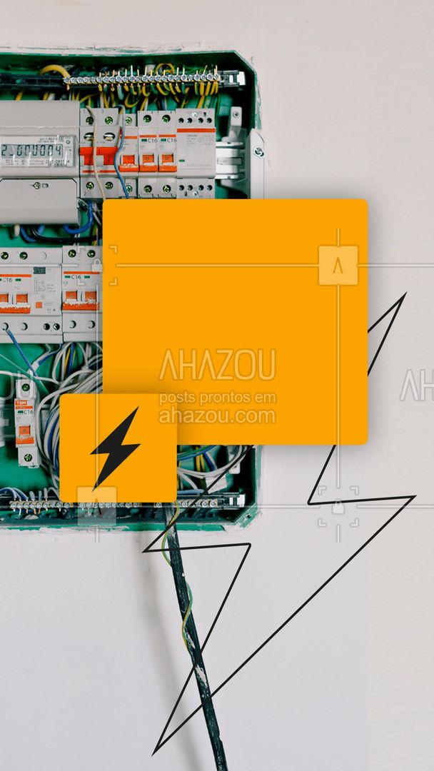 Com alta resistência mecânica e isolamento, temos as melhores caixas de medidor!  #AhazouServiços #eletricista #eletricidade #eletrica #serviços #serviçosparacasa #visita