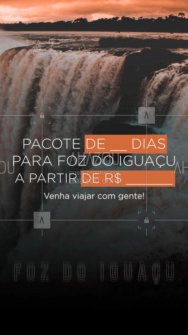Venha viajar com a gente! Aproveite nossos pacotes para conhecer as grandes belezas de Foz do Iguaçu! ✈️ #AhazouTravel #viagens #agentedeviagens #viageminternacional #viagempelobrasil #viajar #viagem #trip #agenciadeviagens #AhazouTravel