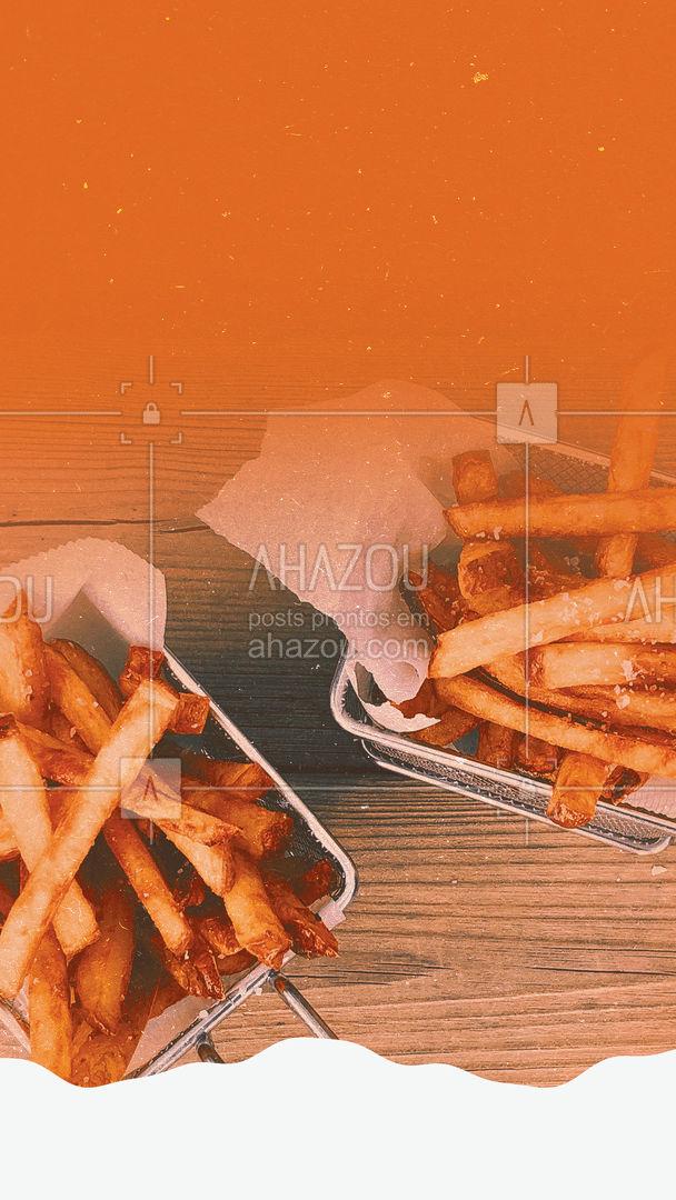 Qual a sua porção favorita? É só pedir que ela fica mais gostosa quando vem de delivery. Vai querer? #ahazoutaste #delivery #entrega #porção