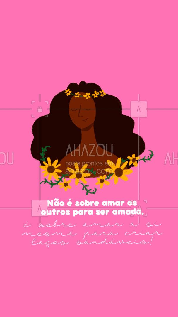 Seja gentil consigo mesmo. Você é linda, você é forte, você é determinada. ❤️ #colorahz #AhazouBeauty  #estetica #beauty #beleza