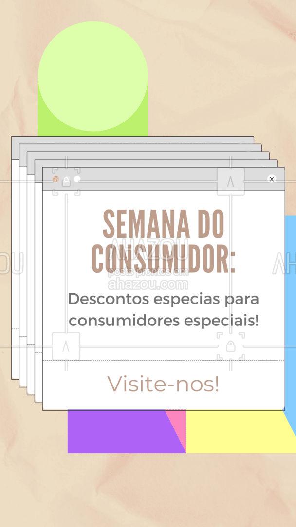 Na semana do consumidores, visite-nos e ganhe vários descontos especiais! ? #AhazouTec   #eletros #assistenciatecnica