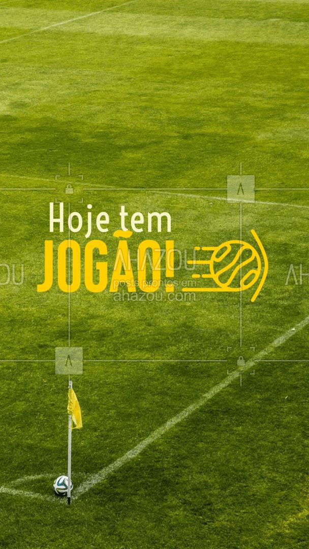Acompanhe o jogo com a gente! Venha vibrar pelo seu time! #ahazou #jogo #bola #futebol #diadejogo