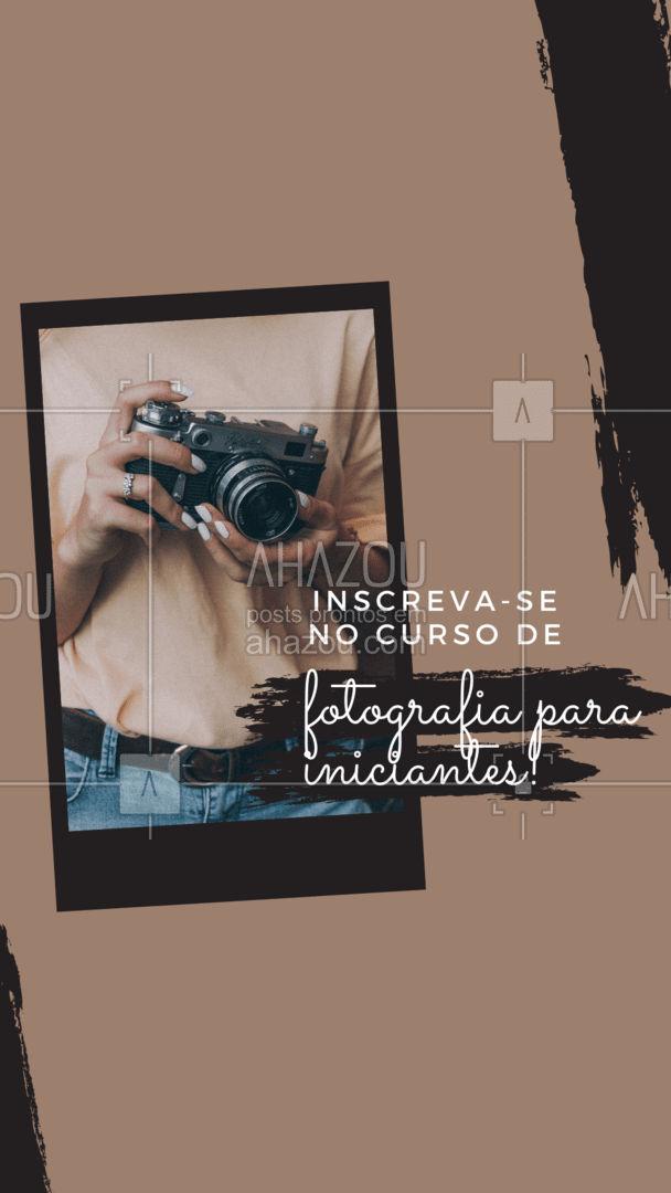 Estão abertas as inscrições para o curso que vai mudar o jeito que você tira fotos! Entre em contato e saiba mais! #ahazoufotografia #cursoiniciantes #cursofotografia  #fotografia #foto #photooftheday