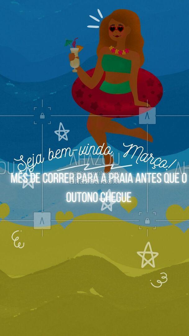 Já preparou sua roupa de banho? Não há tempo a perder! ??? #BemVindo #Março #modapraia #AhazouFashion  #praia #fashion #moda