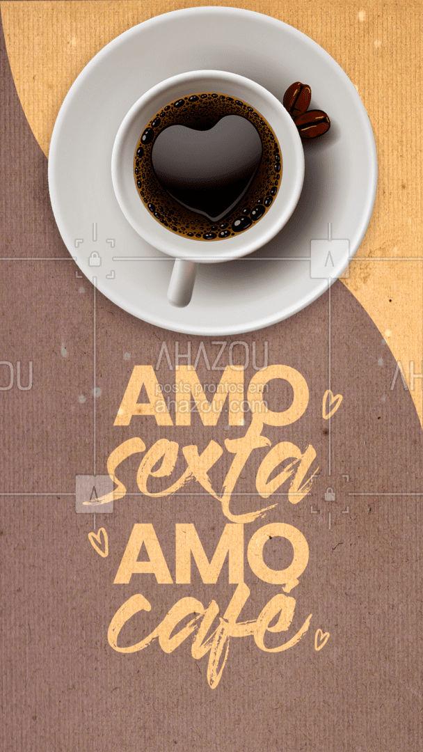 E tem como não amar? ☕❤️ #ahazoutaste #barista #café #coffee