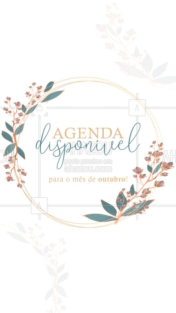 Vamos cuidar da saúde? ? Estamos com a agenda liberada ✨ #outubro #agendaaberta #ahazoubeauty #estetica #beauty #beleza