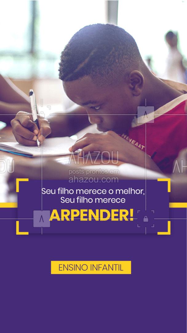 Seu filho merece aprender tudo o que é necessário para alcançar tudo o que ele sonha. 📚 #AhazouEdu #educação #aulaparticular #vestibular #professorparticular #concursopúblico #cursinho