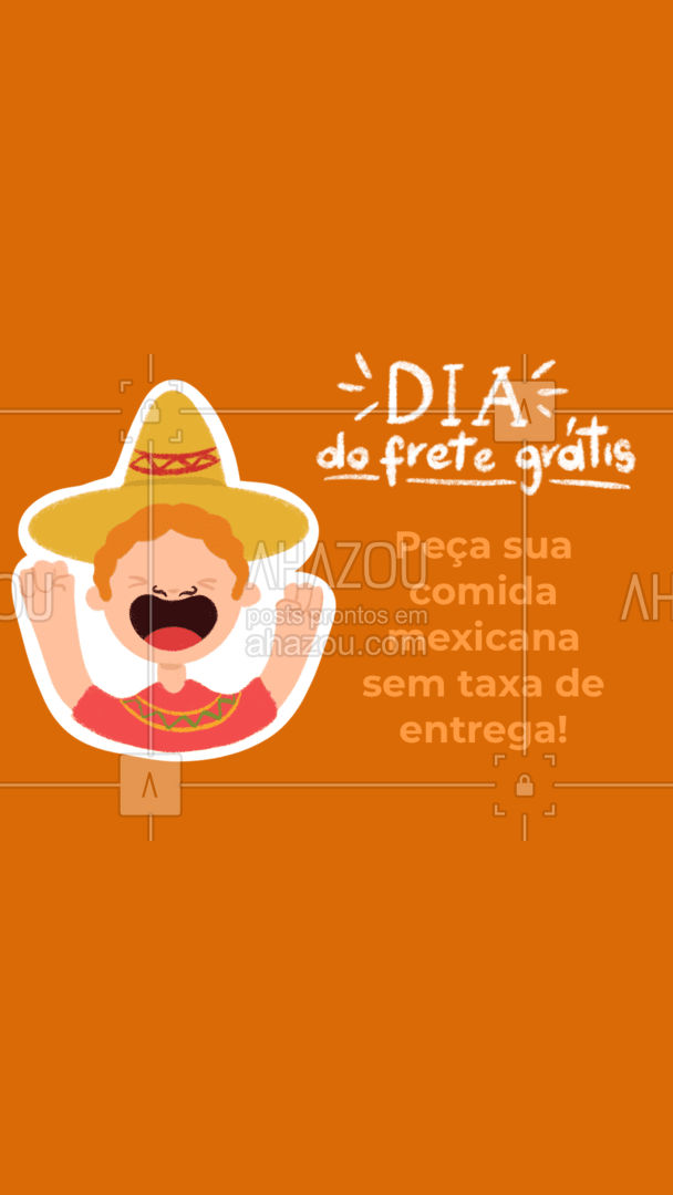 Só no Dia do frete grátis, a entrega de todos os pedidos fica por nossa conta. Aproveite a promoção! #diadofretegratis #comidamexicana #ahazoutaste #cozinhamexicana #nachos