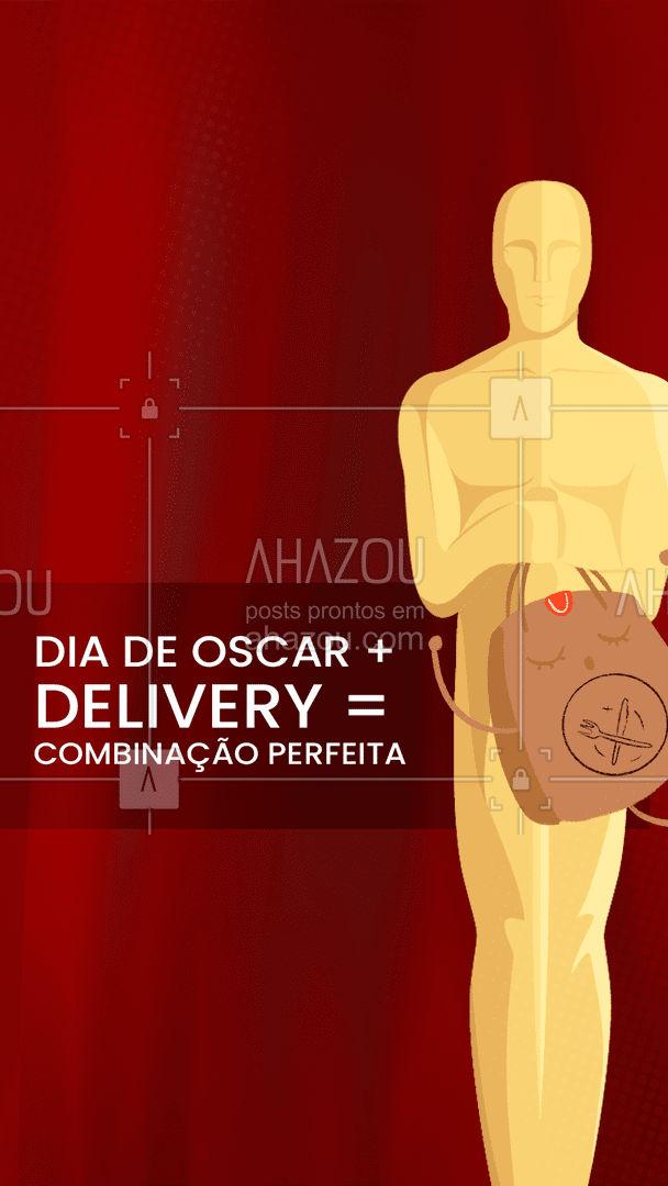 Hummm! Nosso delivery vai deixar a sua noite de premiação do Oscar perfeita entre em contato! #gastronomy #foodie #gastronomia #ahazoutaste #foodlover #instafood #delivery #oscar