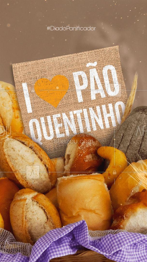 Qualquer um fica mais feliz com pão quentinho! Um muito obrigado aos panificadores! #DiadoPanificador #ahazoutaste  #padaria  #padariaartesanal  #cafedamanha  #panificadora  #bakery #padeiro