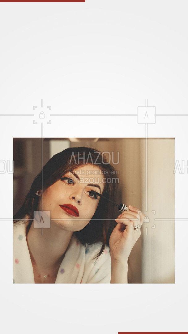 Marque sua make para arrasar no fim de semana! #AhazouBeauty  #makeup #maquiagem #maquiadora #makeoftheday