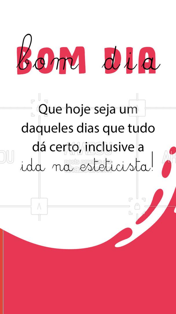 Aí sim o dia fica perfeito! ? Bom dia meus amores, qual procedimentos vamos fazer juntas hoje? ?#EsteticaCorporal #BomDia #AhazouBeauty #esteticista #beleza #saúde #AhazouBeauty