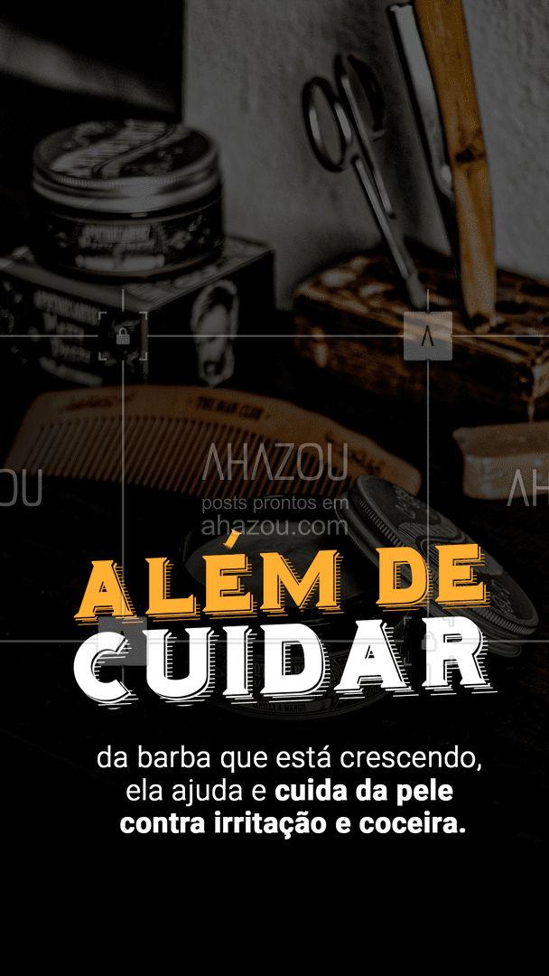 O poder de hidratar sua barba diariamente #AhazouBeauty #barba  #barbearia  #barberShop  #cuidadoscomabarba  #barber  #barbeirosbrasil  #barbeiro  #barberLife #hidrataçãobarba #crescerbarba