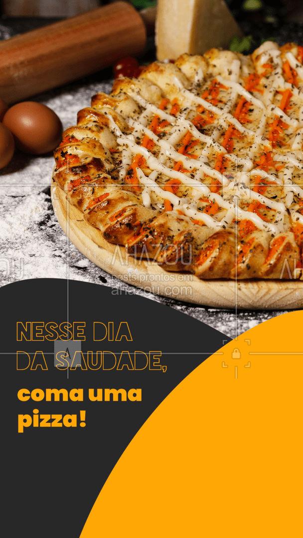 Mate a saudades de comer uma pizza quentinha e gostosa ??! Confira nosso cardápio e aproveite para se deliciar ?. #pizza #ahazoutaste #pizzaria #pizzalife #pizzalovers #ahazoutaste