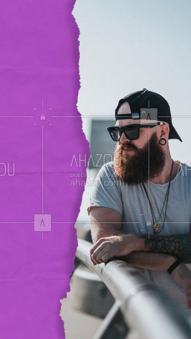 Vamos deixar a sua barba curtinha, mas com muito estilo. ? #editaveisahz #AhazouBeauty #barba #barbeiro