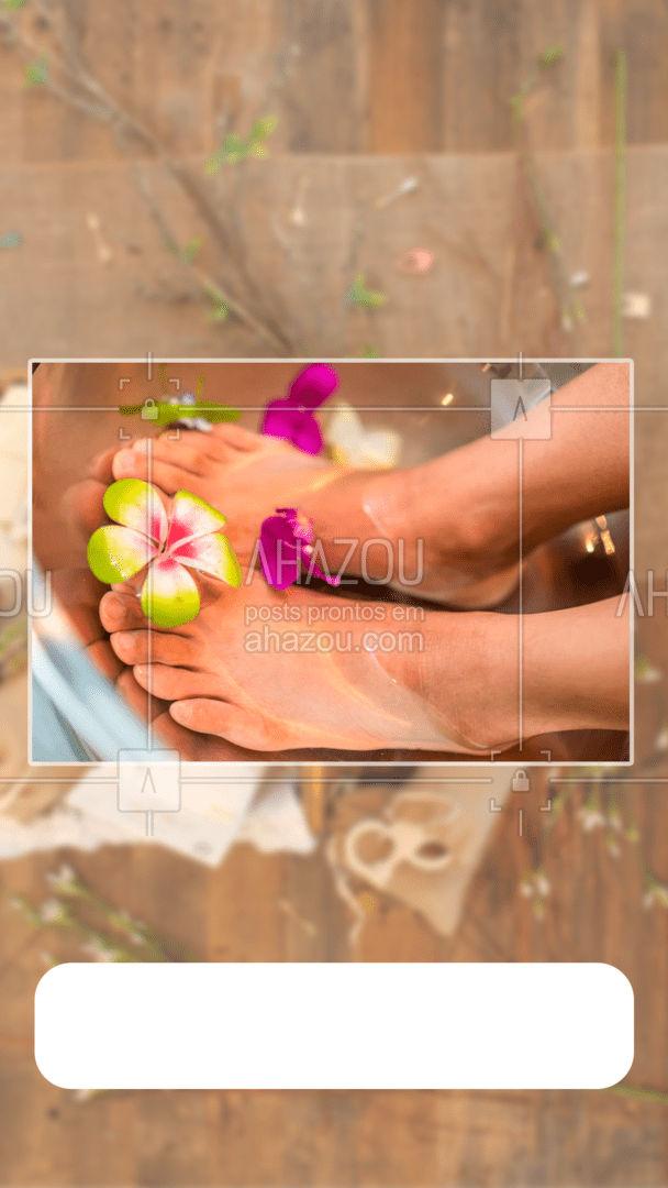 Invista no seu bem-estar, conforto e saúde! Marque uma consulta com a gente e cuide dos seus pés.  #AhazouSaude  #podologiacomamor #podologia #podolog #saude #podolog