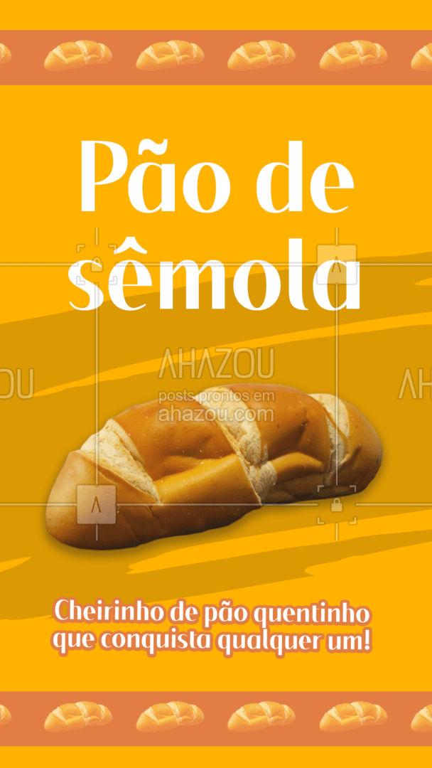 Por aqui temos várias opções de pães! Venha conhecer o nosso delicioso pão de sêmola! Fresquinho e com a qualidade que vocês já conhecem!   #ahazoutaste #pãodesemola  #padariaartesanal #cafedamanha #pãoquentinho #confeitaria #bakery #panificadora #padaria