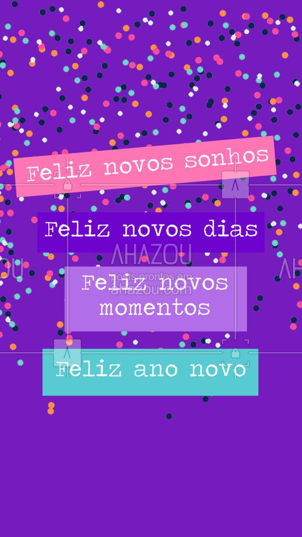 Tudo o que desejamos é que seu ano seja feliz!? #ahazou #anonovo #frase #fimdeano #felizanovo #motivacional