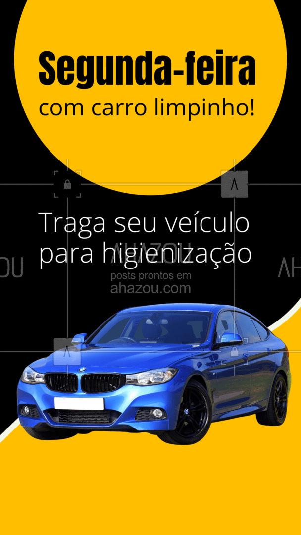 Diversas opções de serviços para seu carro ficar nos trinques.  #AhazouAuto  #esteticaautomotiva #higienizacaoautomotiva #automotivos